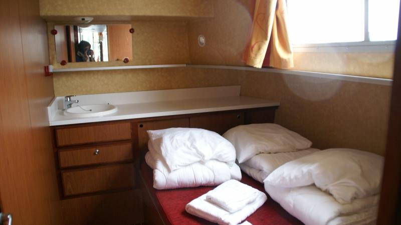Penichette 1500 R - Front Cabin with a Double Bed