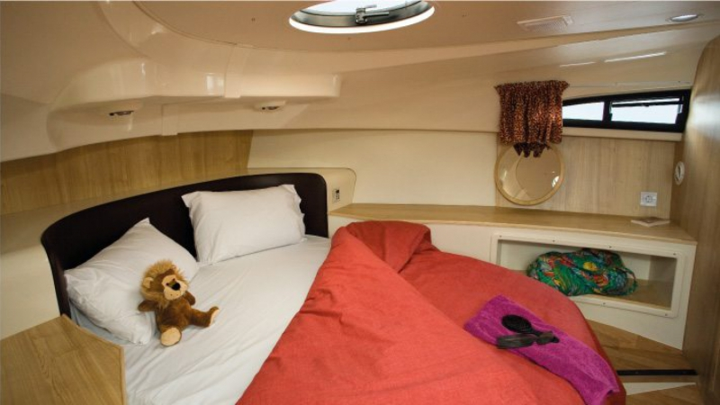 Mystique - Front Cabin with 1 Double Bed