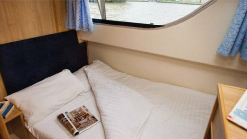 Salsa A - Portside Central Cabin Babord with 1 Double Bed