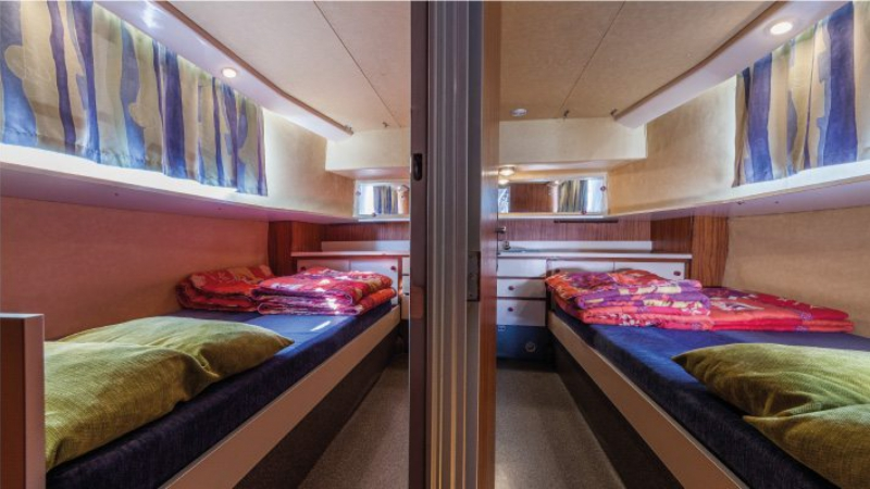 Penichette 1260 R - The 2 Fron Cabins with a Double Bed