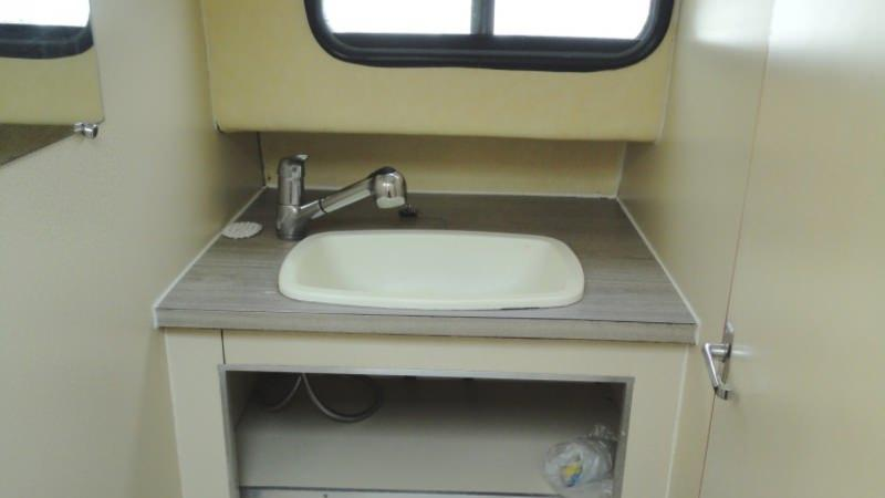 Boating Holidays with Triton 860 - Bathroom