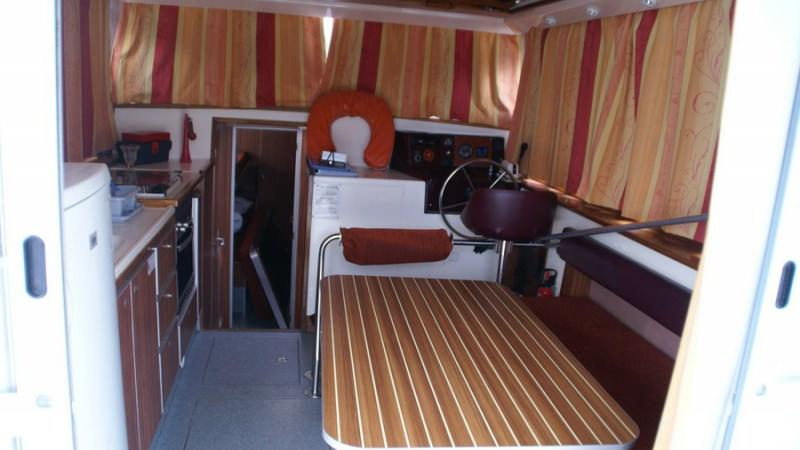 Penichette 1120 R -Lounge, convertible into a Double Bed