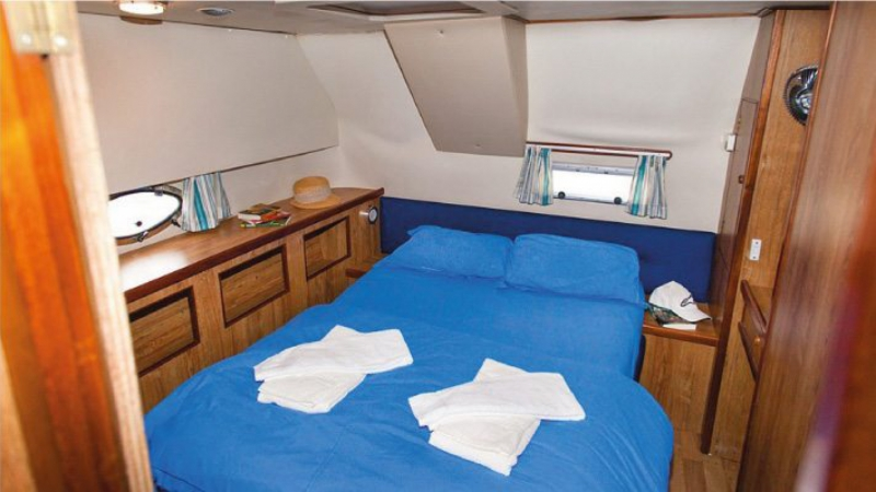 Countess - Rear Cabin with 1 Double Bed