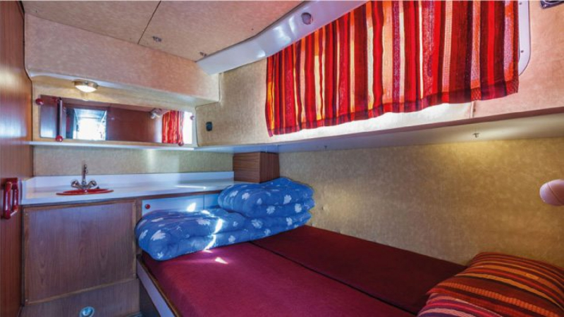 Penichette 1500 R - Starboard Front Cabin with a Double Bed