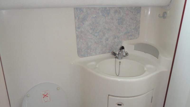 Sedan 1160 A - Barthroom with Electric Toilet