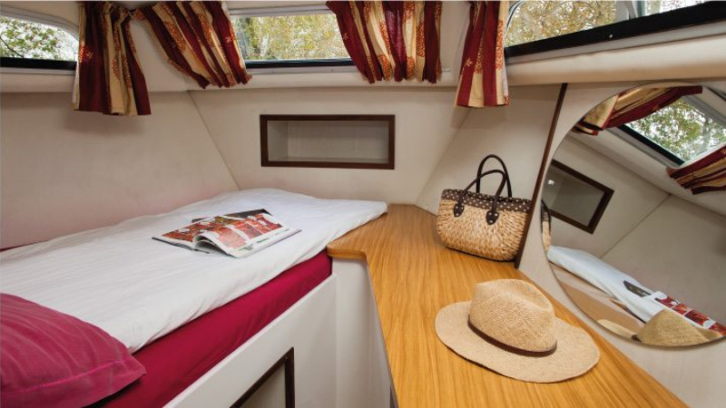 Continentale - Front Cabin with 1 Double Bed
