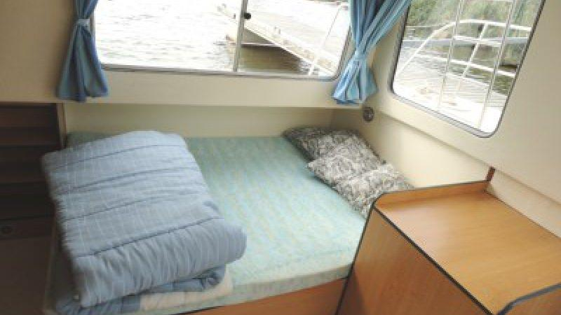 Eau Claire 930 - Rear Cabin with a Double Bed + a Single Bed