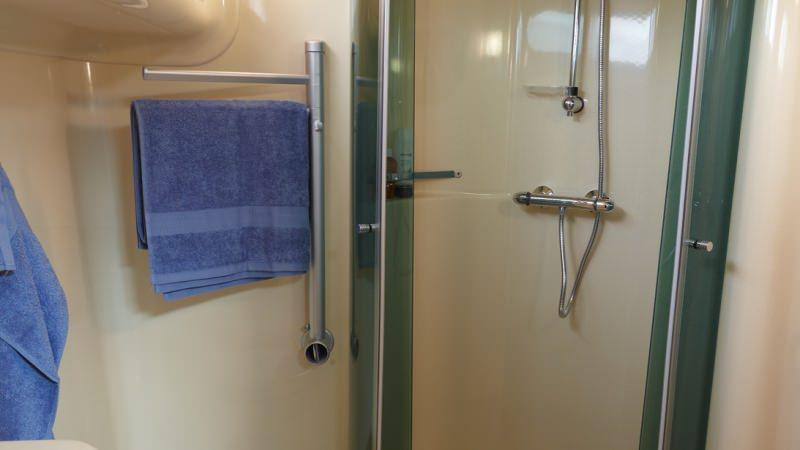 Estival Quattro S - Bathroom with Large Shower and Electric Toilet