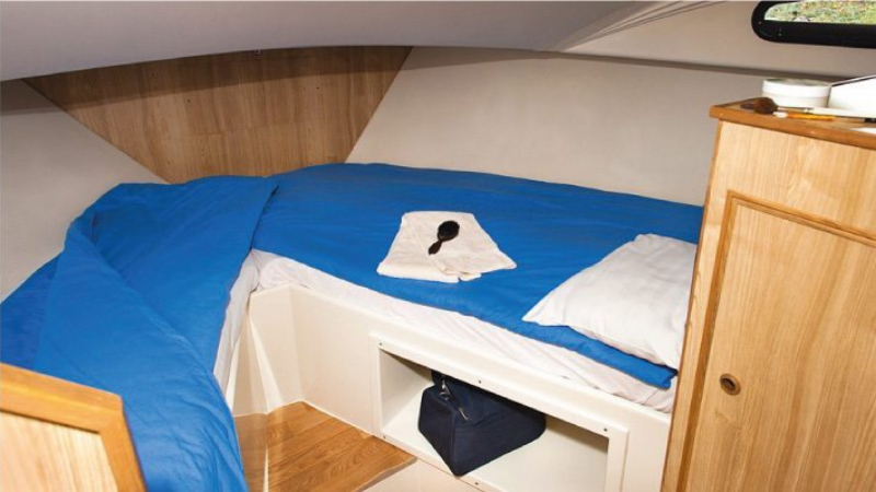 Elegance - Front Cabin with 2 Single Beds