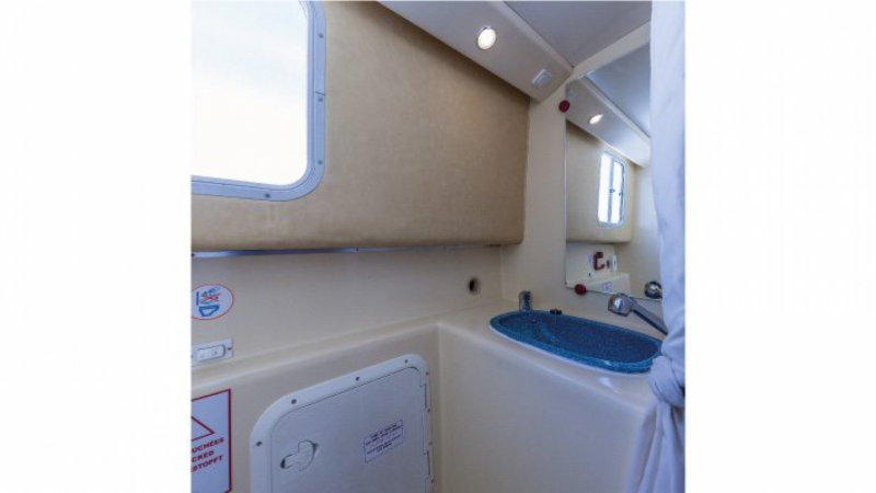 Penichette 1260 R - Bathroom with Electric Toilets