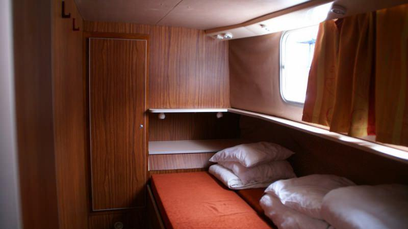 Penichette 1120 R - Front Cabin with a Double Bed