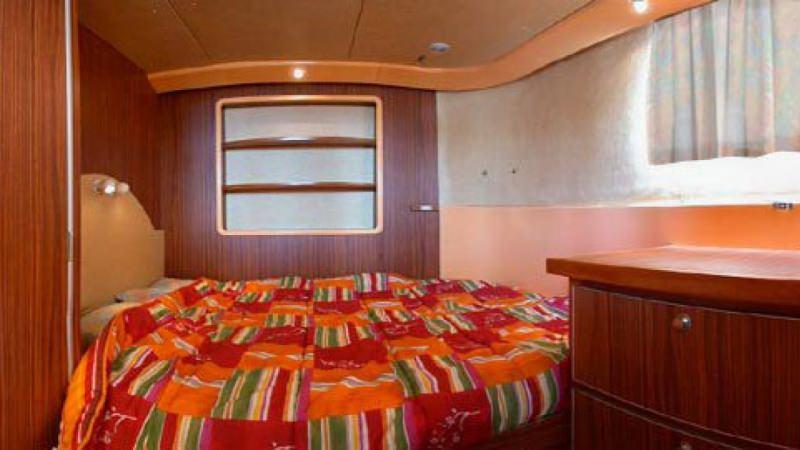 Penichette 1400 FB - Rear Cabin with a Double Bed