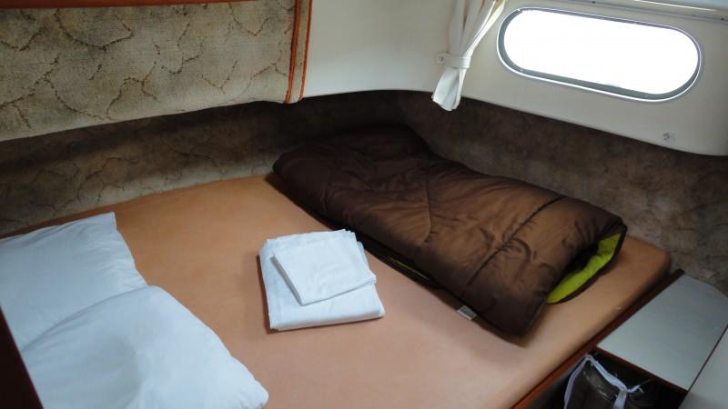 Confort 1350 - Front Cabin with a Double Bed