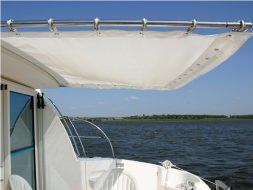 An Awning on the back Sundeck