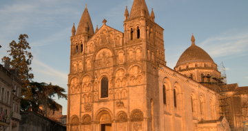 Cathedral Saint Pierre in Chateauneuf