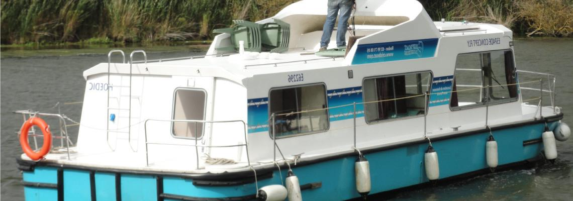 Canal Boating Holidays on Espade Concept Fly Slide 2