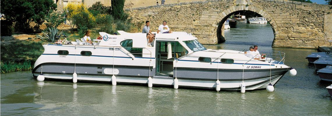 Canal Boating Holidays on Confort 1350 VIP slide 1