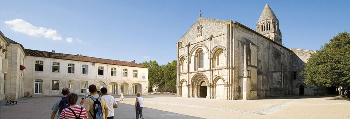 The Abbey of Sainte discover by renting a boat without license on boating holidays