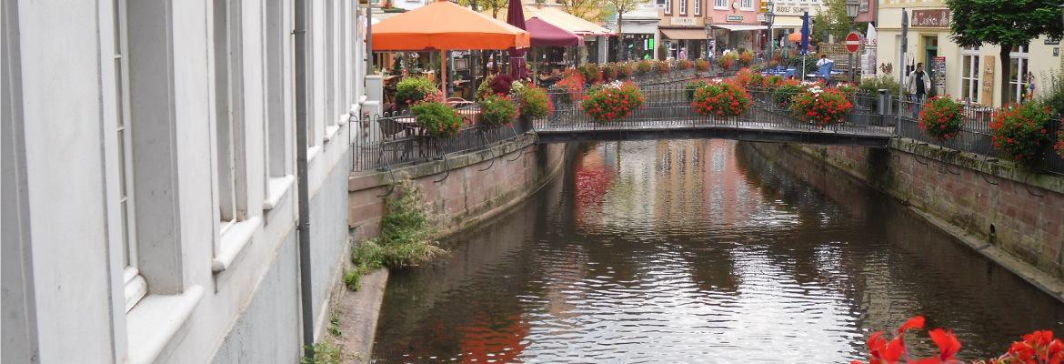 the discovery of the city of Strasbourg in houseboat rental without license on canal boating holidays